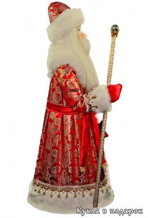 Дед Мороз в красном с золотом костюме