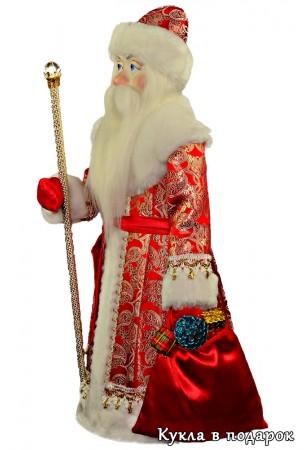 Дед Мороз с большим мешком подарков для детей