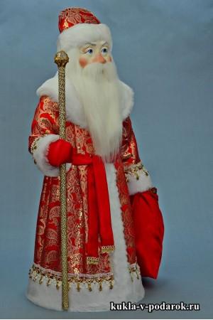 Фото Дед Мороз большой кукла в подарок