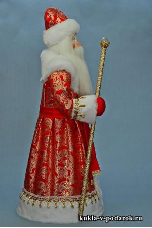 Фото Дед Мороз большой кукла ручной работы