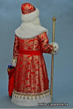 Фото Дед Мороз большой авторская кукла