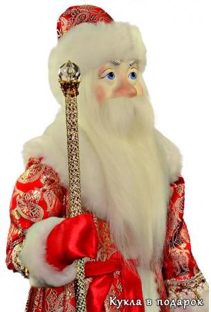 Дед Мороз большой кукла ручной работы