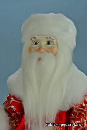 Фото кукла Дед Мороз красивый новогодний подарок