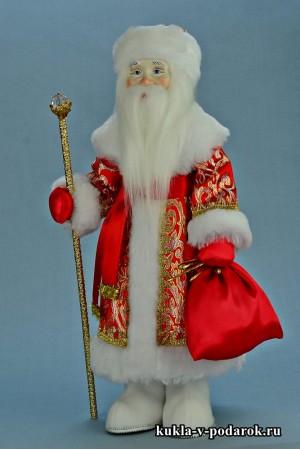 Фото Дед Мороз в подарок хенд мейд кукла