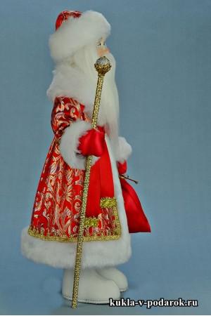 Фото Дед Мороз в подарок московская кукла сделано в России