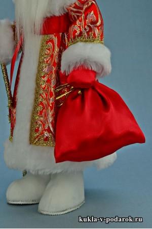 Фото Дед Мороз в подарок с праздничным мешком