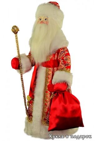 Новогодняя кукла Дед Мороз в подарок
