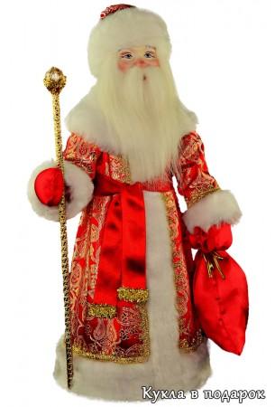 Кукла Дед Мороз в подарок ручная работа