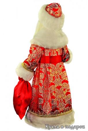 Подарок для взрослых и детей кукла Дед Мороз