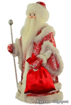 Кукла дедушка мороз борода из ваты