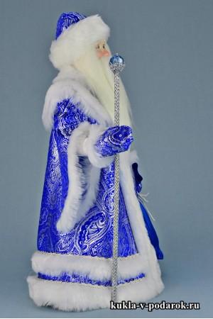 Фото русский Дедушка Мороз новогодняя кукла под елку