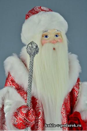 Фото Дедушка Мороз авторская кукла сувенир