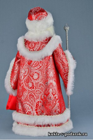 Фото Дедушка Мороз в красной одежде шубе