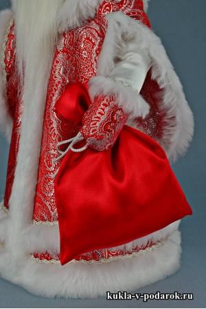 Фото Дедушка Мороз с мешком новогодний подарок
