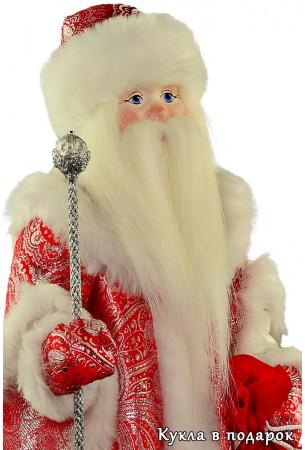Красивая кукла дедушка мороз