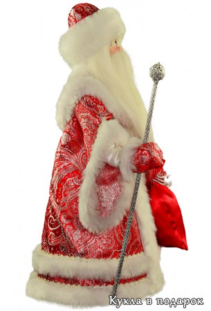 Авторская кукла дедушка мороз
