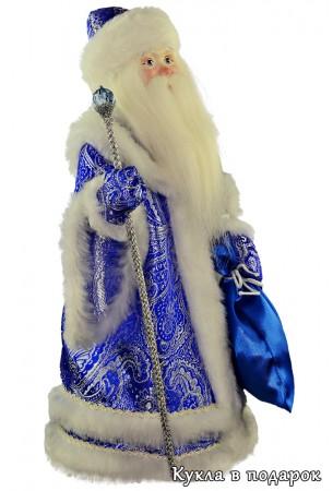 Кукла дедушка мороз новогодний сувенир
