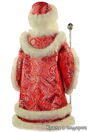 Новогодний подарок кукла дедушка мороз