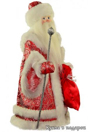 Кукла дедушка мороз ручной работы