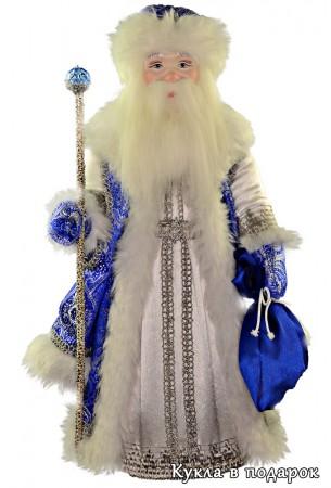 Морозко кукла в синем наряде