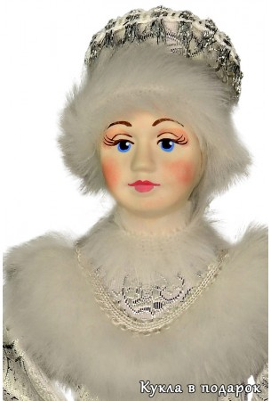 Снегурочка из сказки кукла под елку к Деду Морозу