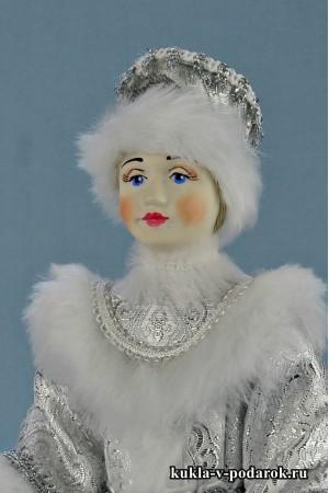 Фото Снегурочка из сказки кукла под елку к Деду Морозу
