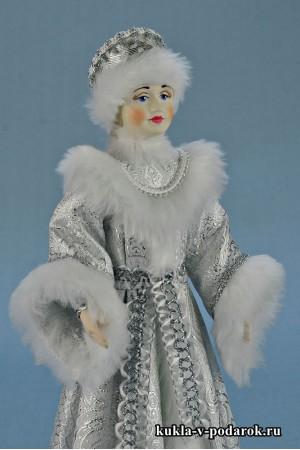 Фото Снегурочка из сказки авторская кукла