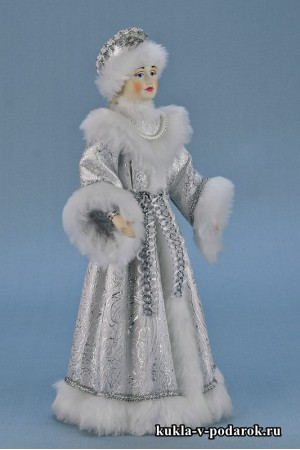 Фото Снегурочка из сказки кукла ручной работы