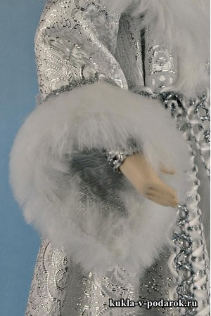Фото Снегурочка из сказки красивая кукла хенд мейд