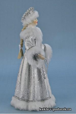Фото Снегурочка из сказки новогодняя кукла сувенир