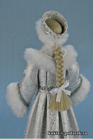 Фото Снегурочка из сказки кукла готовая работа