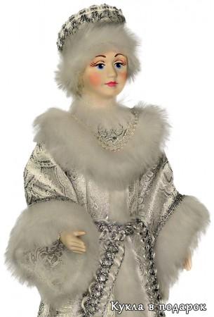Снегурочка из сказки авторская кукла