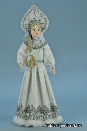 фото русская Снегурочка кукла в подарок