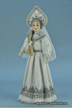 фото Снегурочка национальная русская кукла