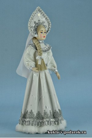 фото кукла русская Снегурочка авторская работа