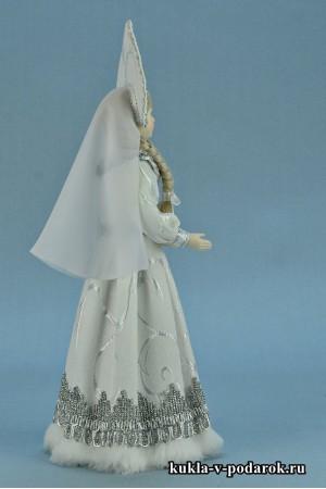 фото кукла Снегурочка в русском костюме