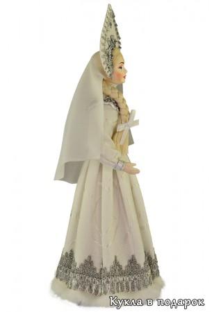 Русская Снегурочка рукодельная кукла