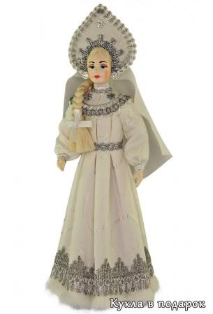 Подарок из России кукла Снегурочка