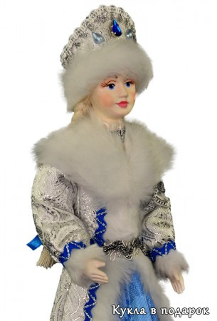 Снегурочка из СССР авторская кукла