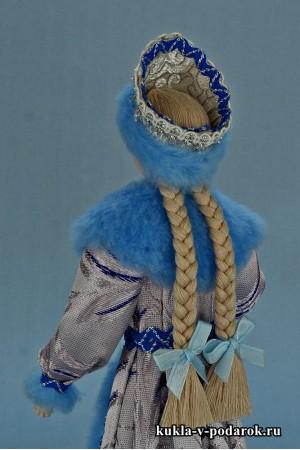 фото Снегурочка из СССР кукла с двумя косичками
