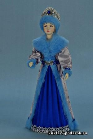 фото Снегурочка из СССР кукла из фарфора