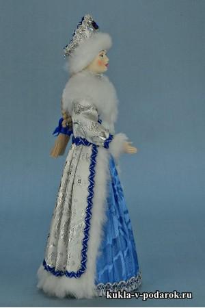 фото Снегурочка из СССР красивая хенд мейд кукла
