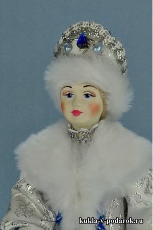 фото кукла Снегурочка из СССР подарок ручной работы