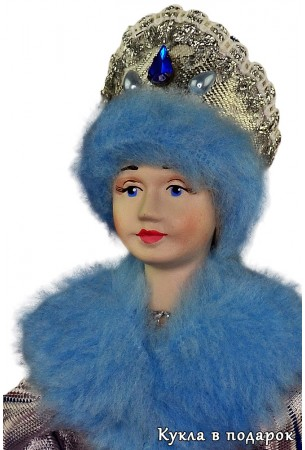 Снегурочка из СССР кукла из фарфора