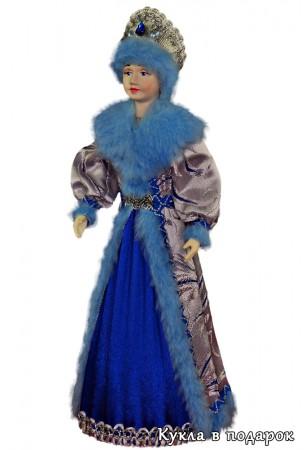 Снегурочка из СССР кукла с двумя косичками