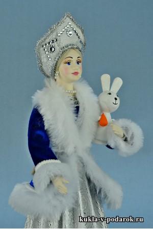 фото Снегурочка в русском кокошнике