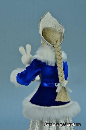 фото Снегурочка в кокошнике ручной работы