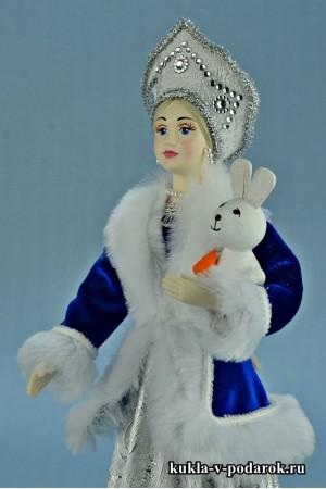 фото Снегурочка в кокошнике новогодний сувенир