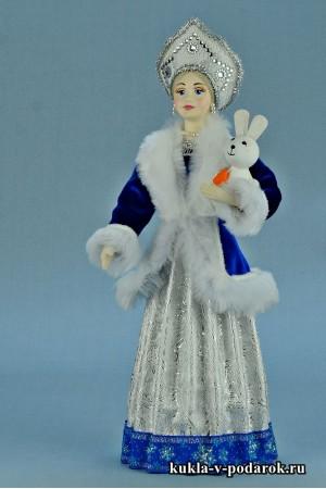 фото Снегурочка в кокошнике авторская кукла