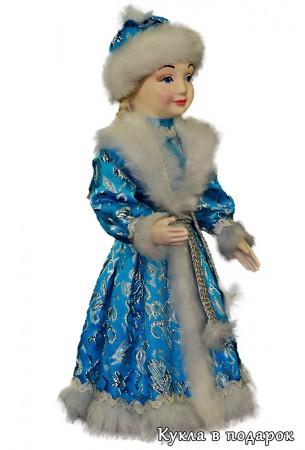 Снегурочка девочка в бирюзовом наряде